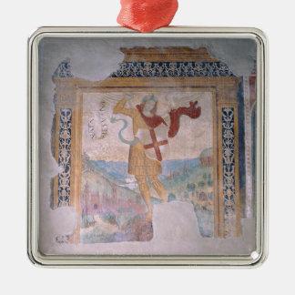 St. Michael (fresco) Christmas Ornament