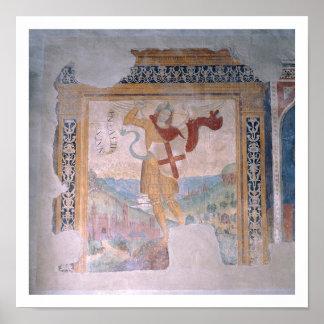St. Michael (fresco) Print