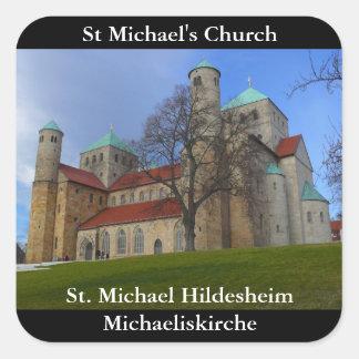 St. Michael Hildesheim, St Michael's Church Square Sticker