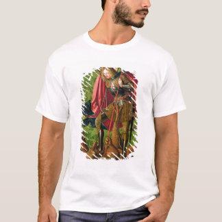 St. Michael Killing the Dragon T-Shirt