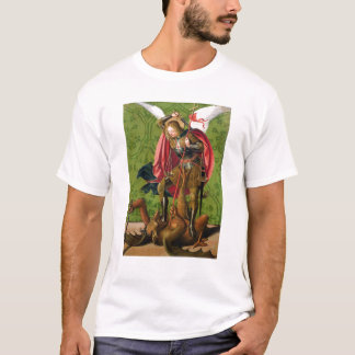 St. Michael Killing the Dragon T-Shirt