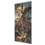St. Michael Overwhelming the Demon, 1518 Gallery Wrapped Canvas