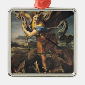 St. Michael Overwhelming the Demon, 1518 Christmas Ornament