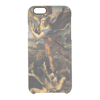 St. Michael Overwhelming the Demon, 1518 Clear iPhone 6/6S Case