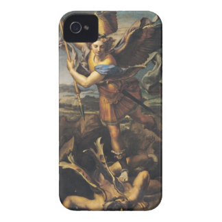 St. Michael Overwhelming the Demon, 1518 iPhone 4 Cover