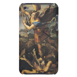 St. Michael Overwhelming the Demon, 1518 iPod Case-Mate Case