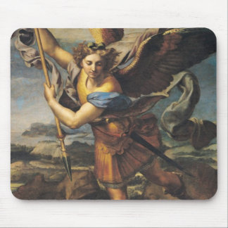St. Michael Overwhelming the Demon, 1518 Mouse Mat
