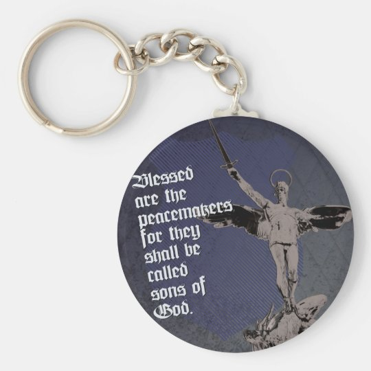 St. Michael - Patron Saint of Police Officers Key Ring