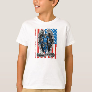 St. Michael Police Defend Us in Battle T-Shirt