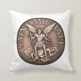 St. Michael prayer pillow