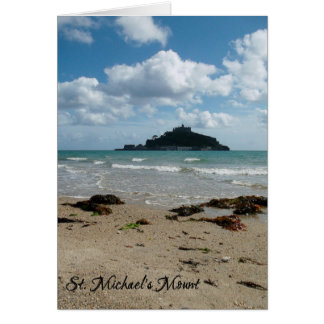 St Michael's Mount Marazion Cornwall England Note Card