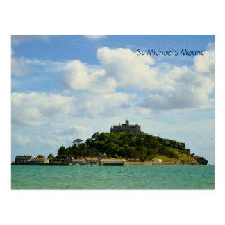St Michael's Mount Marazion Cornwall England Postcard