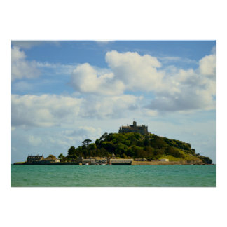 St Michael's Mount Marazion Cornwall England Poster