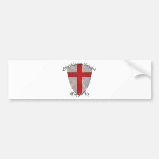 St Michael - Shield Bumper Sticker