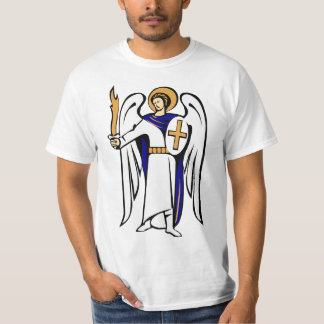 St. Michael Shirt with prayer on reverse