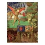 St. Michael Slaying the Dragon Postcard