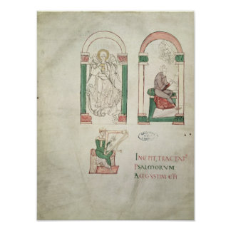 St. Michael, St. Augustine and St. David Poster
