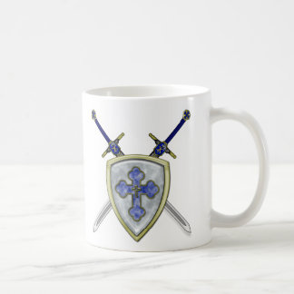 St Michael - Swords and Shield Coffee Mug