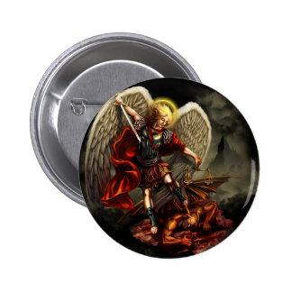St. Michael the Archangel 6 Cm Round Badge