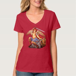 St Michael the Archangel Angel Catholic T-Shirt 3