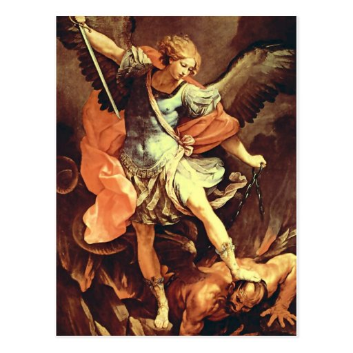 """""""St. Michael the Archangel"""" by Reni Post Card"""