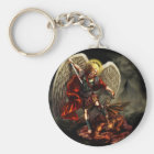 St. Michael the Archangel Key Ring