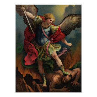 St. Michael the Archangel Large Poster
