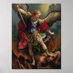 St. Michael the Archangel Medium Poster