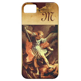 St. Michael the Archangel Monogram iPhone 5 Case