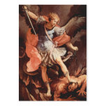 St Michael the Archangel Prayer Card Business Card Template