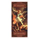 St. Michael the Archangel Prayer Card Customised Rack Card