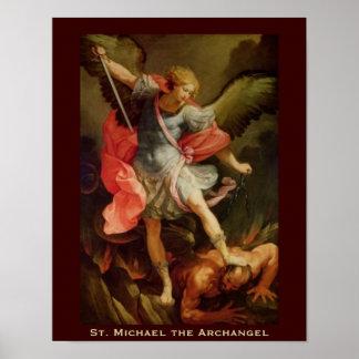 St Michael the Archangel Print