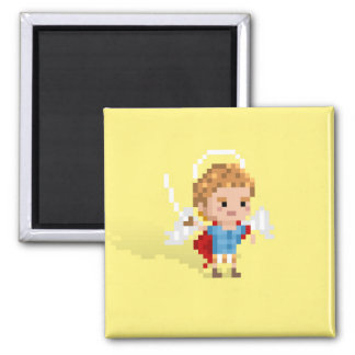 St. Michael the Archangel Square Magnet