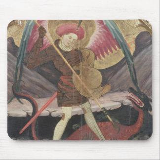 St Michael Vanquishing Evil, c.1480 (tempera on pa Mouse Mat