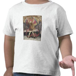 St Michael Vanquishing Evil, c.1480 (tempera on pa Tee Shirts