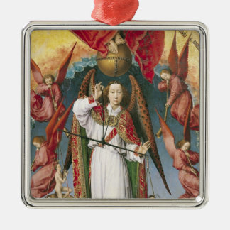 St. Michael Weighing the Souls Christmas Ornament