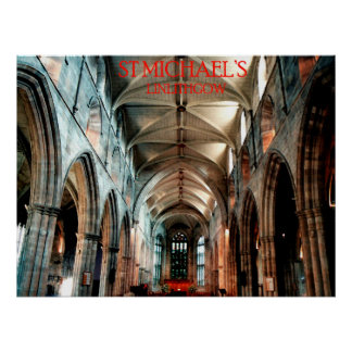 st michael's church linlithgow print