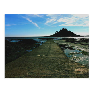 St Michael's Mount Cornwall Postcard