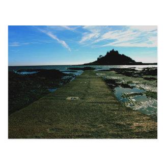 St Michael's Mount Cornwall Postcard