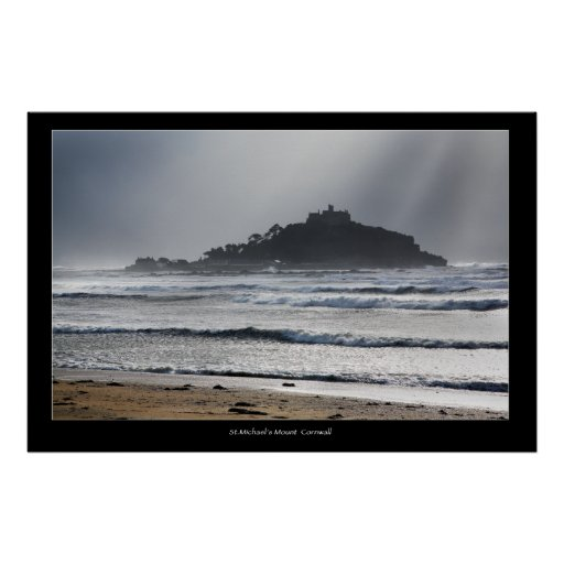 St.Michael's Mount Cornwall Poster