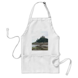 ST MICHAELS MOUNT CORNWALL STANDARD APRON