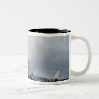 St. Michael's Mount, Cornwall Two-Tone Coffee Mug