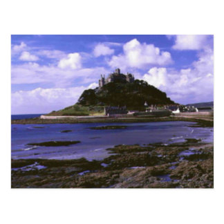 ST MICHAELS MOUNT POSTCARD