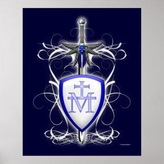 St. Michael's Sword Print