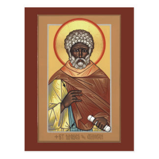 St. Moses the Ethiopian Prayer Card