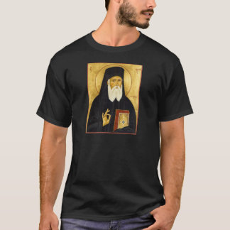 St. Nektarios Icon T-Shirt