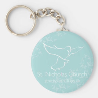 St Nicholas Church Keyring Keychain