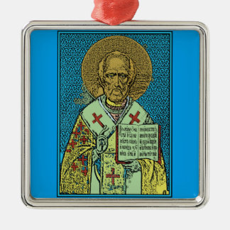 St. Nicholas [color] Christmas Ornament