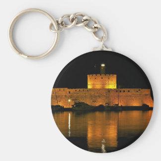St Nicholas Fortress - Šibenik, Croatia Key Ring
