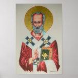 St Nicholas Icon Poster